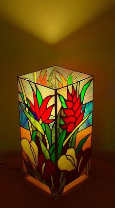 The Tropical Garden Lamp Greeting Card for Sale by DK Nagano