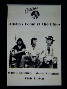 SRV and Double Trouble Texas Texans, Jimmie Vaughan, Brandy Love, Stevie Ray Vaughan, Double Trouble, Record Producer, Rock And Roll, Blues, Singer