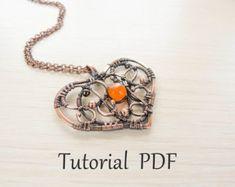 Jewelry tutorial DIY Wire cloud pendant wire by UrsulaJewelry