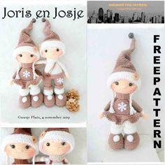 Crochet Doll Pattern, Crochet Patterns Amigurumi, Crochet Dolls, Knitting Patterns, Crochet Christmas Ornaments, Christmas Crochet Patterns, Holiday Crochet, Christmas Craft Projects, Crochet Projects