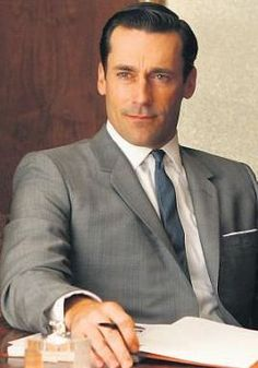 A pocket square is a must-have for any Madison Avenue man.---good ol Don Draper. the G.O.A.T