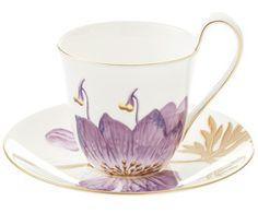 Kaffeetasse Flora, 2-tlg.
