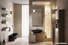 Quick is a line of sanitary ware that combines key elements such as easy installation and maintenance, without compromising the quality and style that. Ceramic Design, Toilet, Mirror, Sinks, Furniture, Bathrooms, Lifestyle, Home Decor, Bathroom