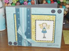 My first Elzybells card:) by corrosive69 - Cards and Paper Crafts at Splitcoaststampers