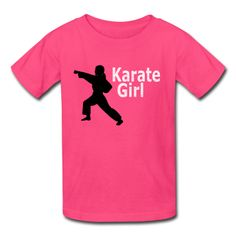 Karate Girl T shirt