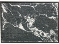 Schoner Wohnen Sauberlaufmatte Miami 50 Cm X 70 Cm Marmor Grau