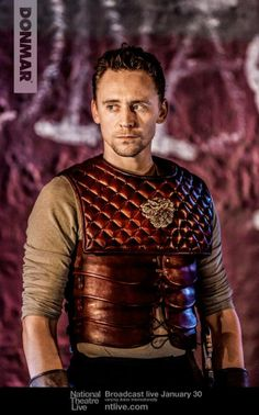Tom Hiddleston receives Olivier nomination for Best Actor ~ Coriolanus. Well deserved!