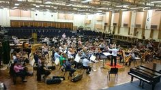 Sounding great in rehearsals with @BBCSO for Last Night of the @bbcproms