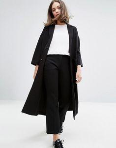 Monki Half Sleeve Duster Coat