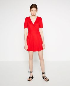 Image 1 of CROSSOVER DRESS from Zara