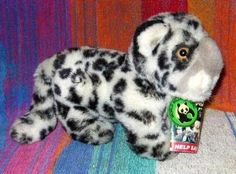 Baby Snow Leopard plush toy