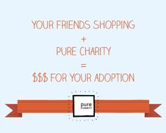 Power Shopping - PureCharity.com Launches Adoption Fundraising Platform