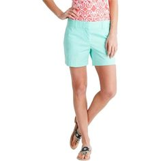 Pre-owned Vineyard Vines Dayboat Classic Dress Shorts ($55) ❤ liked on Polyvore