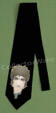OASIS Noel Gallagher cartoon CUSTOM ART UNIQUE TIE   Each necktie is individually hand-painted, a true and unique work of art indeed!  To order this, or design your own custom tie, please contact us at info@collectorware.com, or visit http://www.collectorware.com/neckties-oasis_andrelated.htm