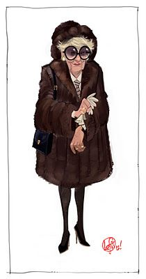 30 Rock's Colleen by Cory Loftis