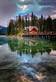 I have been here. Planned on returning this year. Sadly. Plans change. Emarald Lake, Yoho National Park, Canada