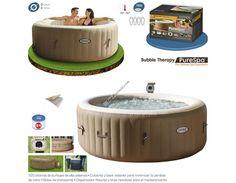 ¡Hola amigos! Esperamos y estéis disfrutando del verano. Os presentamos una manera relajante de relajarnos. ¡Consigue los Jets de burbujas al mejor precio del mercado de la marca Intex! http://www.top-piscinas.com/wellness-y-spas/purespa-terapia-burbujas-de-intex-ref-55001.html