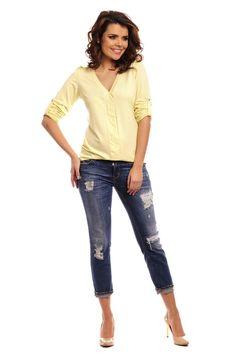 :)  https://www.mokado.pl/Bluzka-Model-Caprice-Cytryna-p18359 #bluzka #odziez #moda #mokado #fashion #trendy
