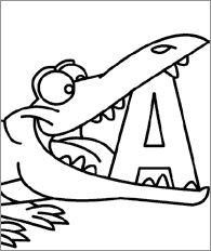 letras para colorear e imprimir grandes abecedario  Buscar con