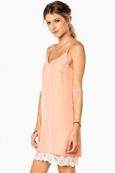 Xandra Dress in Coral