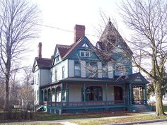 Ypsilanti, MI by Downtown Michigan..great color combo for a victorian