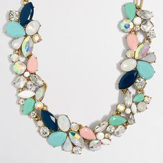J.Crew+Factory+-+Factory+mixed+stones+necklace