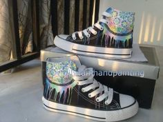 Dreamcatcher Sneakers High-top Painted Canvas Shoes
