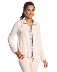 Zenergy Knit Collection Flounced Jacket