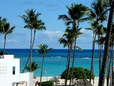 Punta Cana condo rental - The ACTUAL view from our Patio Balcony $995/week after apr 1