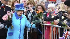 Queen Elizabeth II, on the day she becomes Britain's longest reigning monarch, accepts flowers from onlookers as she arrives to inaugurate the new Scottish Borders Railway, at Tweedbank, Scotland. (Andrew Milligan / AP) HM isn't making a fuss about being the longest-reigning British ruler. But you can. How? Make Coronation chicken. http://www.chicagotribune.com/dining/ct-food-queen-longest-reigning-celebrate-chicken-story.html
