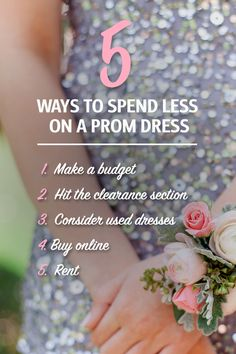 The corsage, the limo, the date… the dress. Check out these 5 tips on how to save on your prom dress and still have the time of your life.