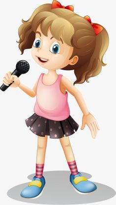 Little girl singing song vector image on VectorStock Music Notes Decorations, Teacher Classroom Decorations, Action Pictures, Music Pictures, Music Notes Art, Art Music, Little Girl Singing, Little Girls, Verbs For Kids