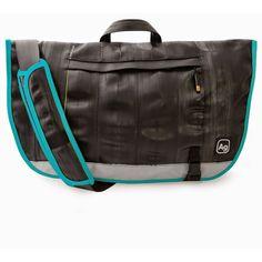 Alchemy Goods Dravus Messenger Bag - Turquoise Aqua - now only $159.00!  #UnusualGifts #YouKnowYouWantIt #allgiftythings #karmakiss #UniqueGifts