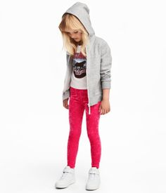 Jersey Leggings | Cerise | Kids | H&M US