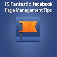 15 Fantastic #Facebook Page Managment Tips