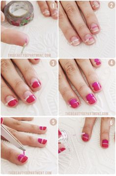 learn how to do our favorite new spring mani!