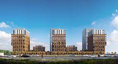 Жилой комплекс «Savin House» в Казани. Проектное бюро BADR5 #BADR5 Skyscraper, Multi Story Building, Projects, House, Log Projects, Skyscrapers, Blue Prints, Home, Homes