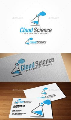 Cloud Science Logo - Nature Logo Templates