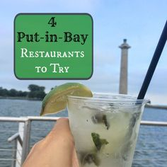 4 Put-in-Bay Restaurants to Try - Pinned by Adventure Mom