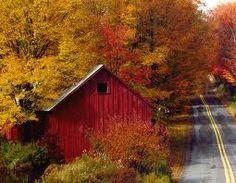 fall in the Poconos