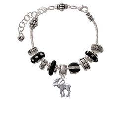 Moose - Black Juliet Charm Bead Bracelet Delight Jewelry http://www.amazon.com/dp/B0083A3TAW/ref=cm_sw_r_pi_dp_vyr.wb076FPJF