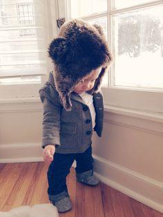nice Aww dressing my Little Jeremiah...