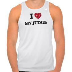 I Love My Judge New Balance Running Tank Top Tank Tops