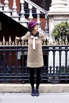Tweed dress!