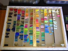 Painting my World: How to Organize Your Pastels for Under $10