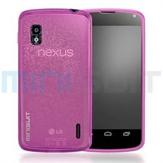 Slip this amazing non-slip grip MiniSuit case/cover for the Google Nexus 4 smart phone from LG and be instantly stylish and sleek while giving ultimate protection to your new gadget. This skin-thin case is made from high quality TPU (thermoplastic p