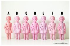 Clonette dolls from Sopo-Villa 소포 빌라 Shop / South Korea sopo-villa.com