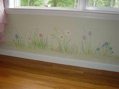 Garden Themed Nursery Murals : Nursery Murals and More