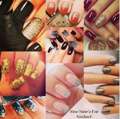 NYE / Fin de año #nailart #manicura #fashion #moda #pretalist