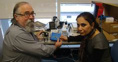 New gadget helps the vision impaired to read graphs - News and Events